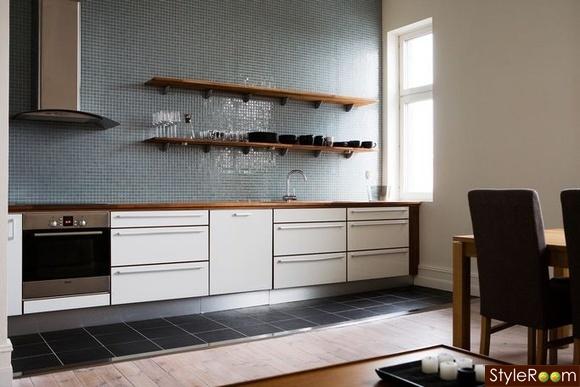 klinker eller eklaminat i k ket diskutera renovering p styleroom. Black Bedroom Furniture Sets. Home Design Ideas