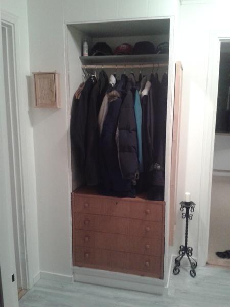 Tapetsera garderob   inspiration och idéer till ditt hem