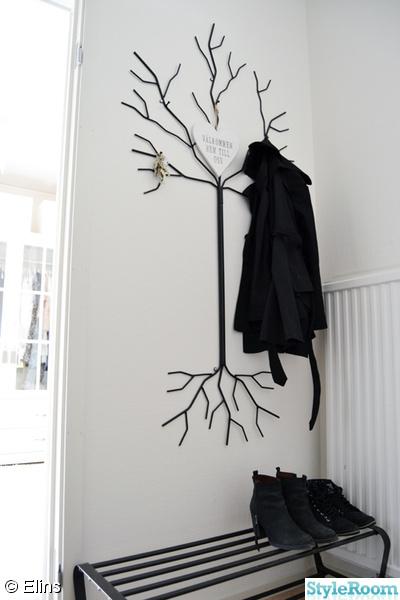 Inspirerande bilder på klädhängare träd