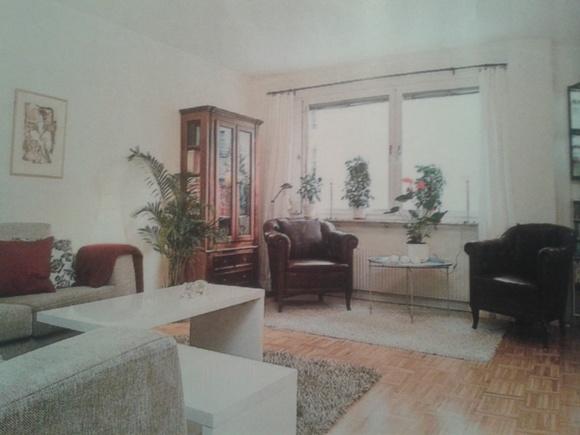 Bild på compact living Vardagsrum + sovrum av stlinn