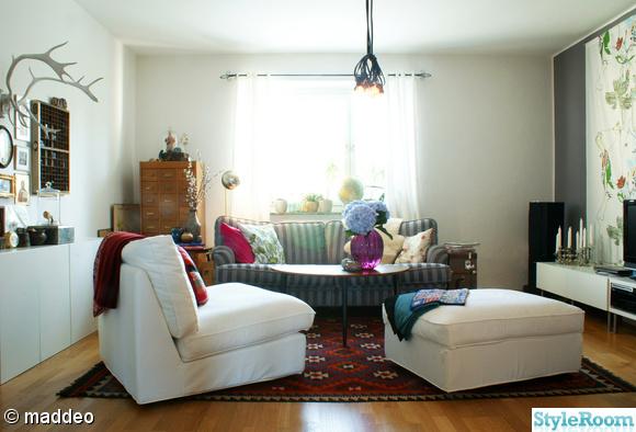 vardagsrum,kelim,soffa,kartotek,hortensia