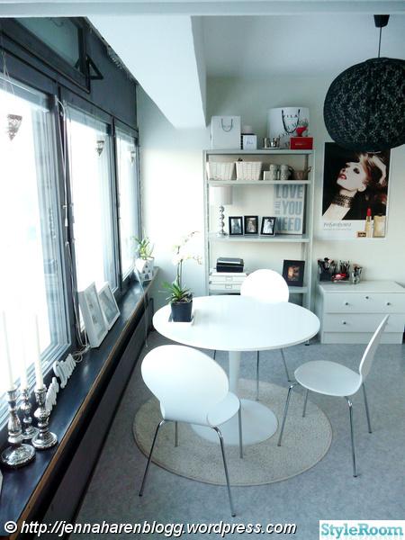 matbord,ikea,lagerhylla,fönster,dekationer