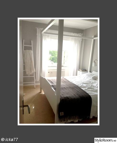Bild på stege klädhängare Vårt sovrum av Linnbn