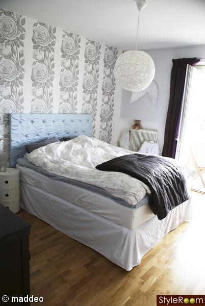 sovrum,säng,sänggavel