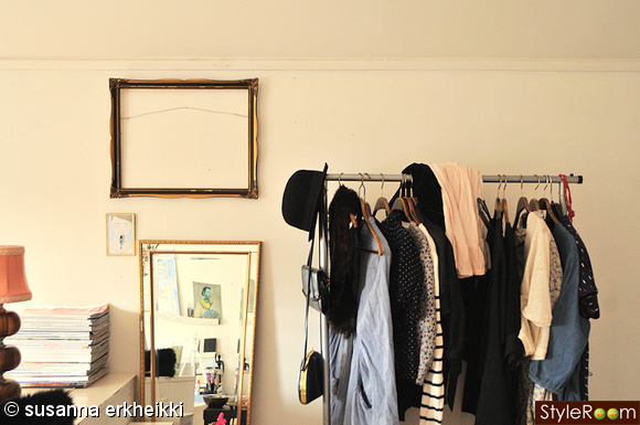Inspirerande bilder på klädställning