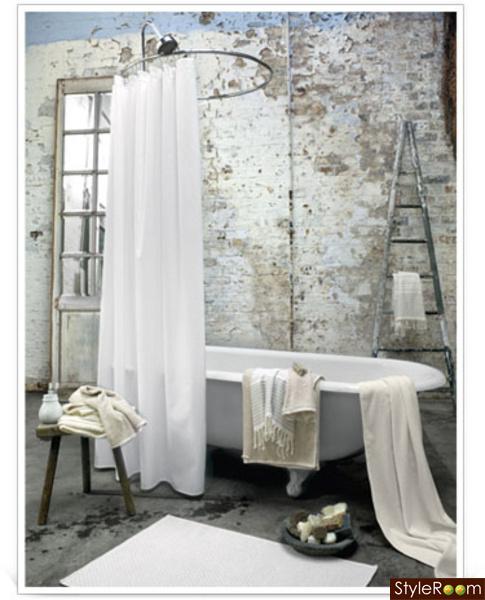 Badrum i shabby chic stil morgonrodnads inredningsblogg for Salle de bain shabby chic
