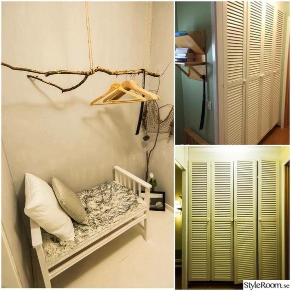 före & efter,garderob,hall,återbruk,hotellrum