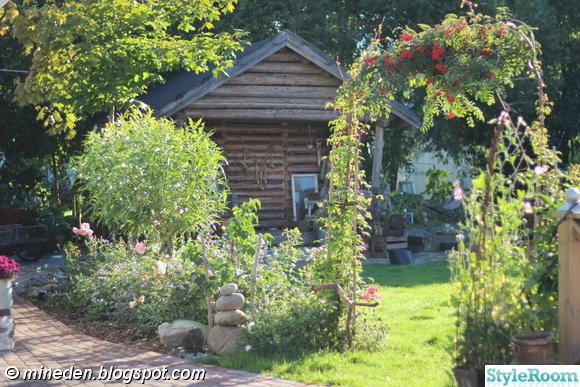 rosenbåge,trädgård