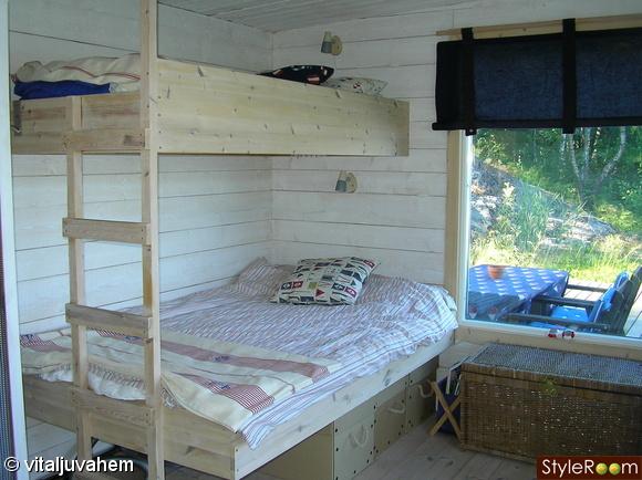 ikea,säng,påslakan,gardin,kuddar
