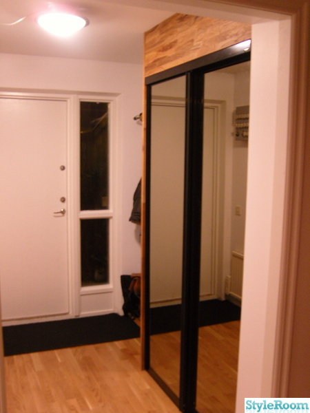 skjutdörrar,spegeldörrar