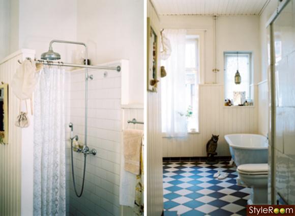 Svart- och vit rutigt golv - Inspiration och idéer till ditt hem