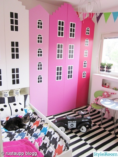 stockholm rand,flickrum,barnrum,hus,husgarderober