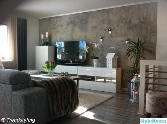 Inspiration vardagsrum - En klippbok om inredning