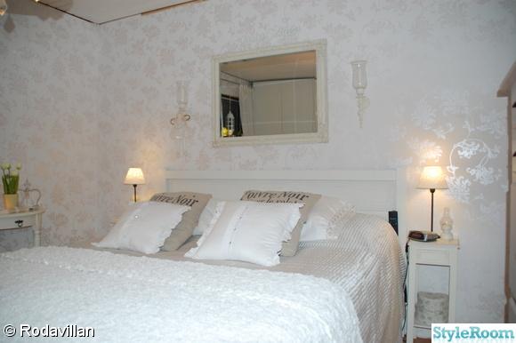Inspirerande bilder på romantiskt sovrum'
