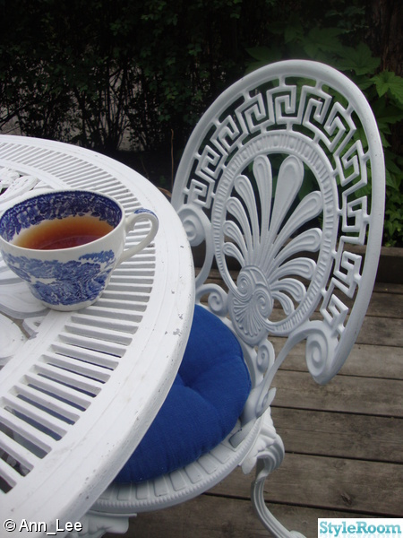 cafébord,cafestol,engelskt porslin
