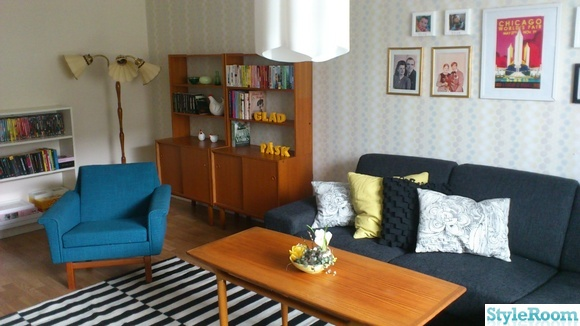 retro,teak,tavlor,påsk,golvlampa,50-tal,60-tal