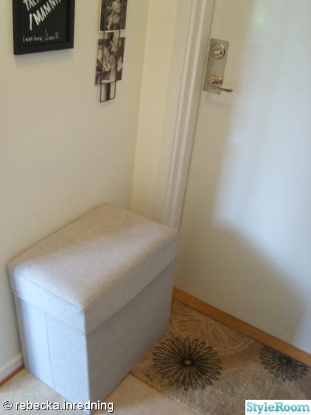 hall,compact living,sittpuff,förvaring