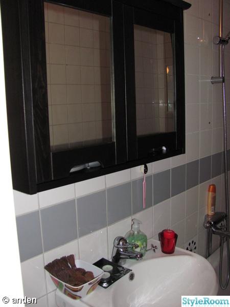 Inspirerande bilder på badrumsskåp ikea