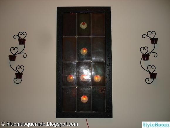 goth,väggljusstake,väggljushållare,väggljusstakar,vägglampa