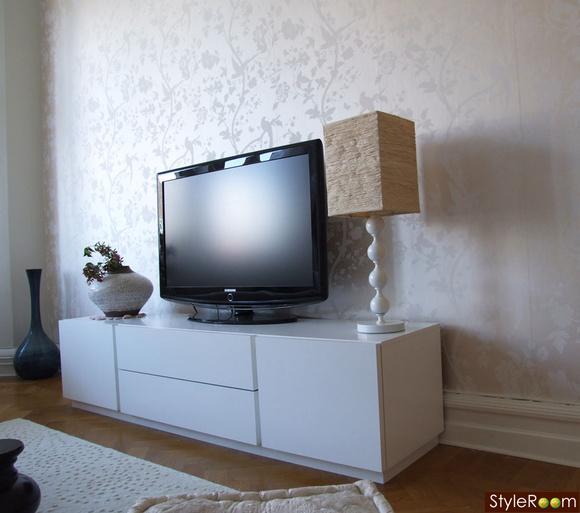 tv bänk ikea vit