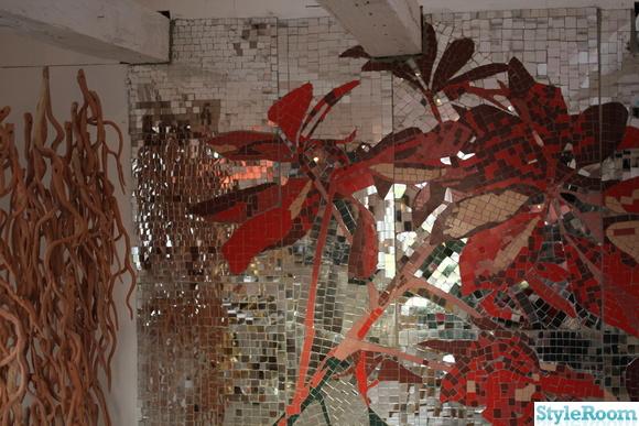 mosaik,konst,skulptur,ateljé