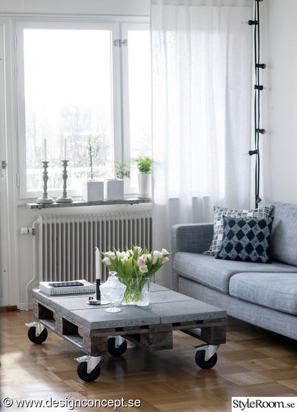 vardagsrum,soffa,soffa grå,soffa ikea,soffbord av lastpallar