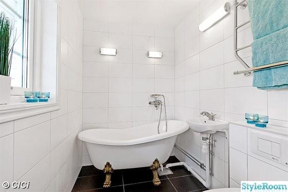 små badkar mått