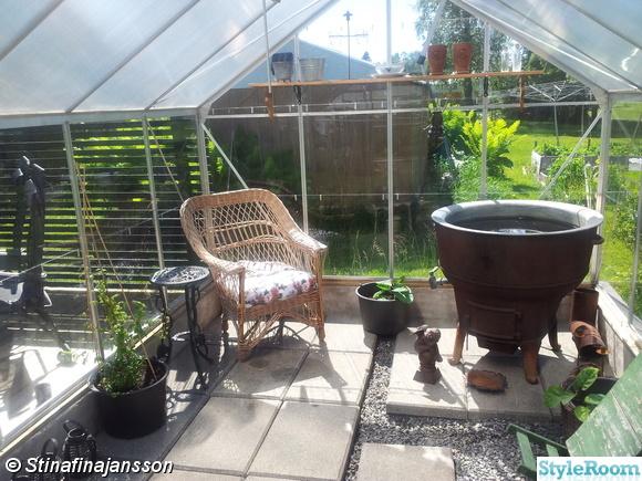 trädgård,växthus