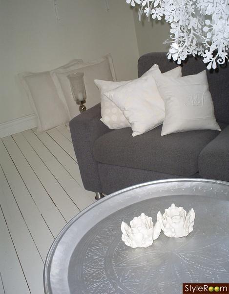 golv,lantligt,vitt,vitmålat golv,vardagsrum