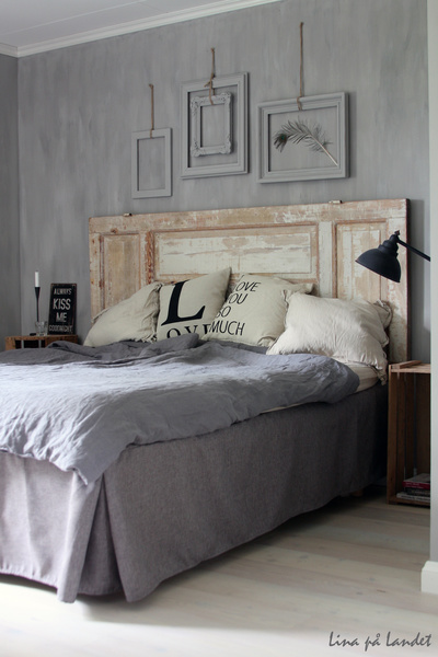 sovrum säng sänggavel sänggavel dörr kalklitir