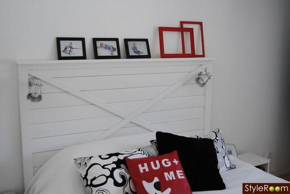 Vit sänggavel Inspiration och idéer till ditt hem