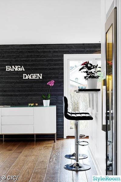 barstolar,vinkyl,sideboard,väggord,panelvägg