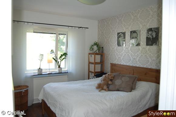 Inspirerande bilder på lantligt sovrum