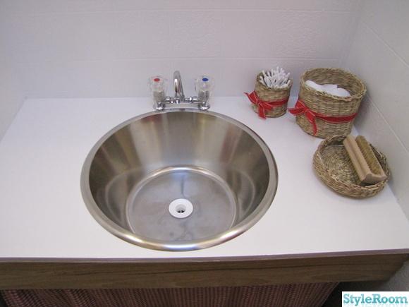 handfat,toalett,badrum,husvagn,rostfri bunke