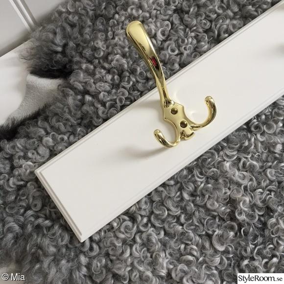 KlädHängare av lådfront från Ikea Hemma hos Mia