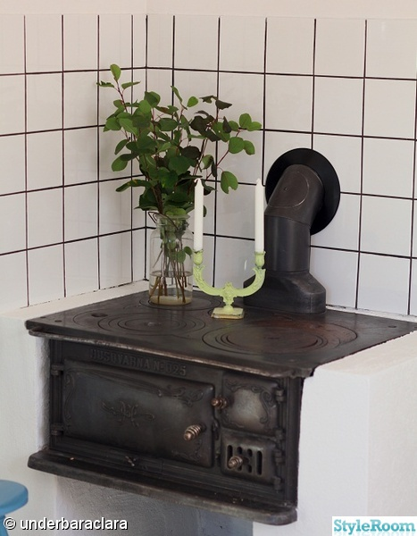 Gammaldags Kok Bilder : gammaldags kok med vedspis  My Bohemic home Lantliga kok