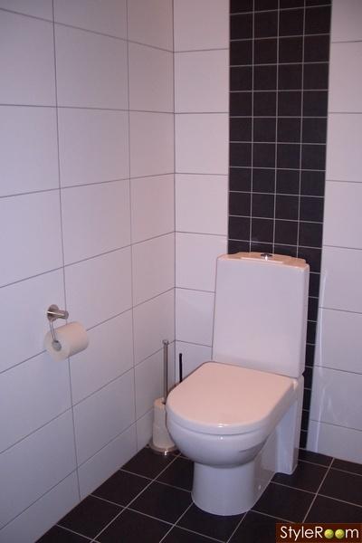 Liten toalett - En klippbok om inredning