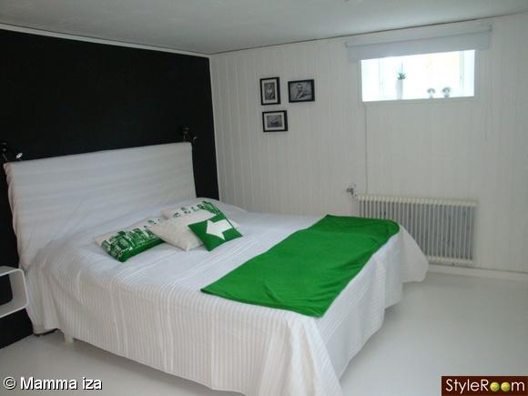 grönt,säng,hm
