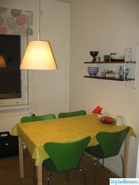kök,renovera,stringhylla,sjuanstolar