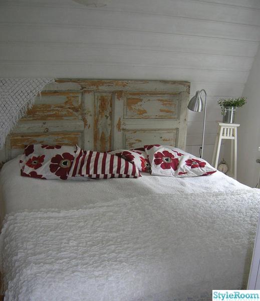 Dörr som sänggavel Inspiration och idéer till ditt hem