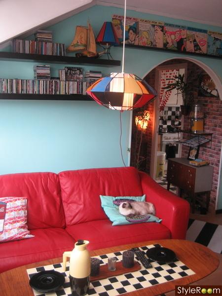 lampa,plastband,50-tal,retro,string