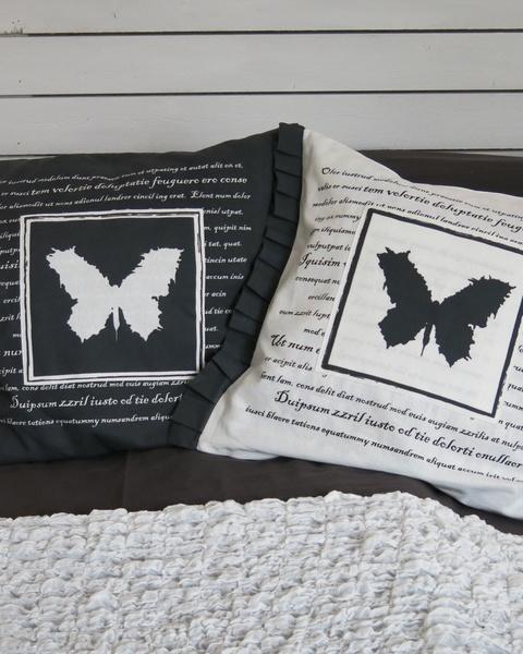 zelectbyhouse,fjäril,gråttochvitt