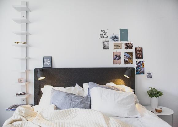 rusta,jysk,sovrum,fotovägg