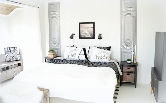 Sovrum i romantisk stil
