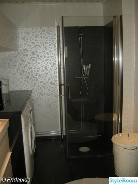 duschväggar,våtrumstapet