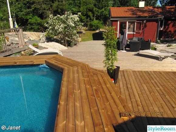 pool,trädäck,altan,poolbygge