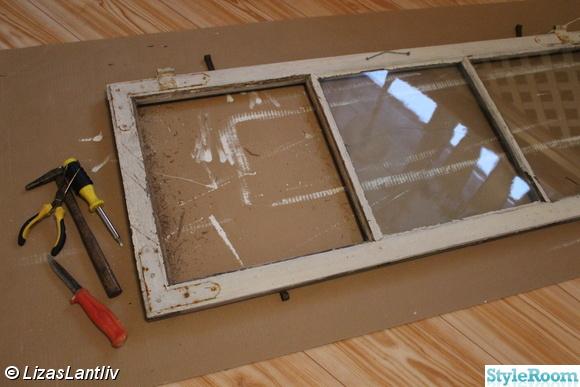 gammalt fönster,renovering