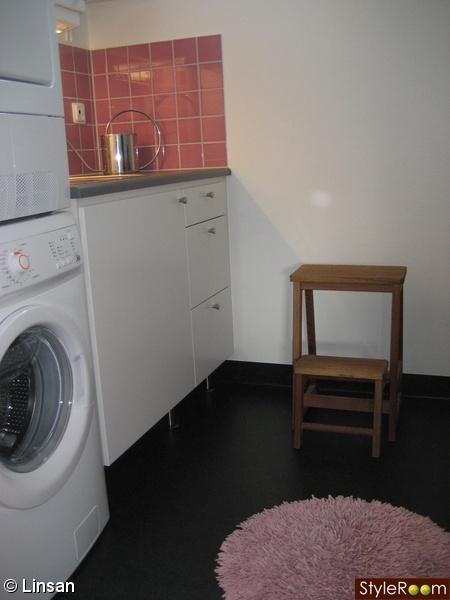 tvättstuga,rund matta