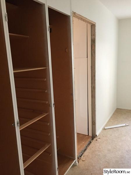sovrum under renovering