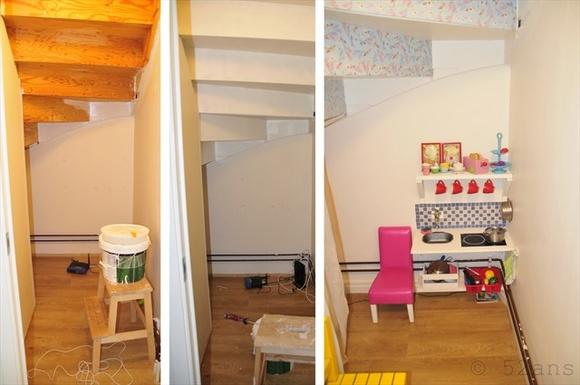 Litet Kok Tips : litet kok losning  Under trappen Inspiration och idoer till ditt